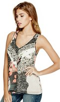 GUESS Abril V-Neck Top