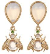 Betsey Johnson Opal Bug Mix Match Earrings