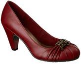 Merona Tricia Round Toe Pump Red