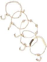 GUESS Women's Maxie Gold-Tone Bracelet Set