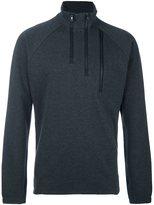 Y-3 zipped V-neck sweatshirt