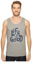 Life is Good Bike Surfer Tank Men's T Shirt