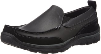 Skechers USA Men's Relaxed Fit Memory Foam Superior Gains Slip-On 6.5 M US