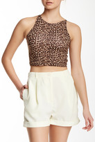 American Apparel Sleeveless Cropped Tank