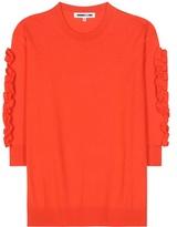 McQ by Alexander McQueen Ruffled Wool Sweater
