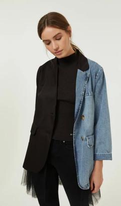 Jovonna London Black Bizer Jacket - one size | black - Black/Black