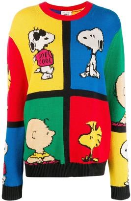 Chinti and Parker Peanuts colour-block jumper
