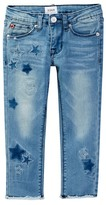 Hudson Frayed Ankle Skinny Jean (Little Girls)