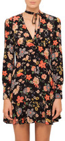 RED Valentino Floral Silk Dress