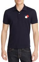 Moncler Triple Logo Slim Fit Polo Shirt