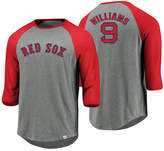 Majestic Men's Ted Williams Boston Red Sox So Much Extra Player Raglan T-Shirt