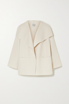 Totême Annecy Wool And Cashmere-blend Jacket - Cream