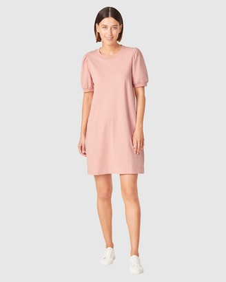 French Connection Women's Dresses - Puff Sleeve Sweat Dress - Size One Size, XS at The Iconic