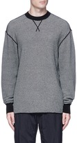 Alexander Wang Marled cotton knit sweater