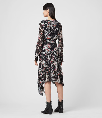 AllSaints Lizia Wing Dress