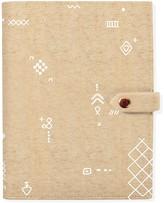 Fringe Studio Geometric Marks Notebook Sleeve Journal