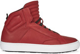 Aldo Qelalle leather high-top trainers