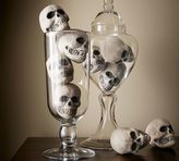 Pottery Barn Mini Skull Vase Filler