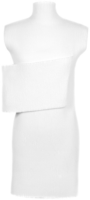 J.W.Anderson Preorder Smocked Banded Dress In White
