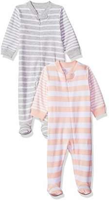 Amazon Essentials Pack of 2 baby rompers,Preemie