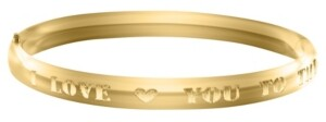 Macy's Children's I Love You to the Moon Bracelet in 14k Yellow Gold over Brass Alloy