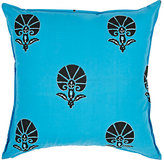 LIFE by Muriel Brandolini Abstract-Shell Cotton Pillow