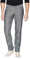 Naked & Famous Denim Weird Guy Pineapple Selvedge Chambray Jeans