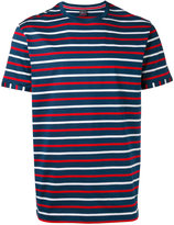 Paul & Shark stripe crew neck T-shirt - men - Cotton - S