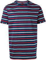 Paul & Shark stripe crew neck T-shirt