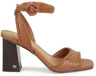 Sam Edelman Danee Woven Leather Sandals