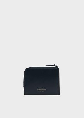 Common Projects Men's Zip Wallet in Black | Leather