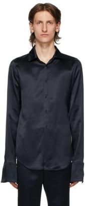 Ludovic de Saint Sernin Navy Skinny Shirt