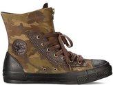 Converse Unisex Chuck Taylor Combat Boot Camo Burnt Umber Size UK 7