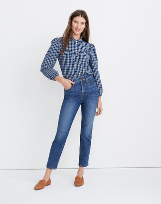 Madewell Stovepipe Jeans in Antoine Wash