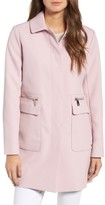 Kenneth Cole New York Women's Zip Pocket A-Line Coat