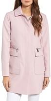 Kenneth Cole New York Women's Zip Pocket A-Line Coat