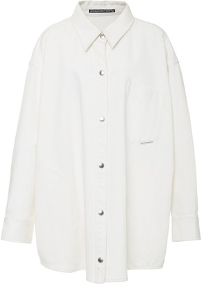 Alexander Wang Kendall Oversized Cotton Jacket