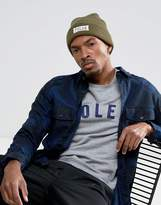 Poler Workerman Beanie in Olive