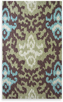 Bed Bath & Beyond Loloi Rugs Super Luxe Brown/Green Ikat Rug