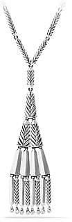David Yurman Women's Stax Fringe Necklace with Diamonds