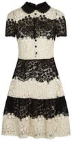 RED Valentino Two-Tone Lace Dress