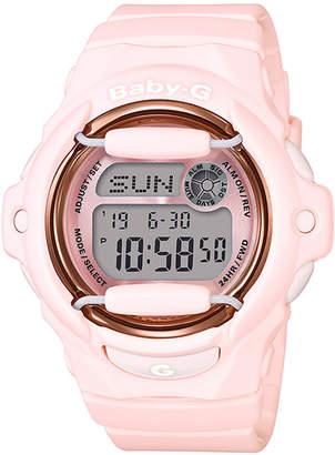G-Shock Baby-g Women Analog-Digital Pink Resin Strap Watch 43mm