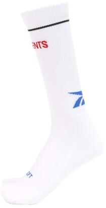 Vetements x Reebok Classic cotton-blend socks