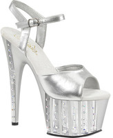 Pleaser USA Women's Adore 709VLRS Ankle-Strap Sandal