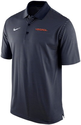 Nike Men's Navy Virginia Cavaliers Stadium Stripe Team Polo