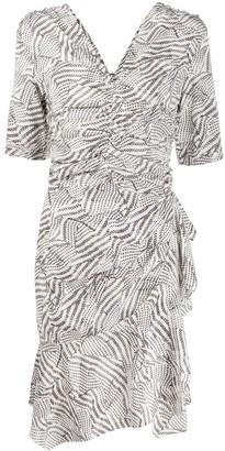 Isabel Marant Ruched Geometric Dress