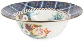 Mackenzie Childs Highbanks Floral Serving Plate