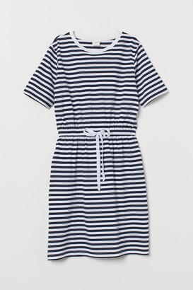 H&M Drawstring T-shirt Dress