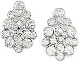Carolee Cluster Clip-On Earrings