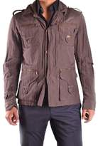 Richmond Men's Brown Polyester Outerwear Jacket.